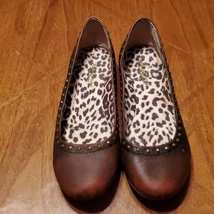 Lucky Brand Leather Frankee Flats
